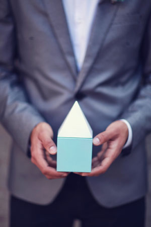 geometric wedding favor