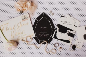 chanel inspired invitations