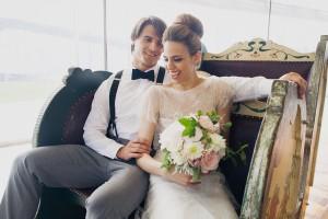 chanel inspired bride