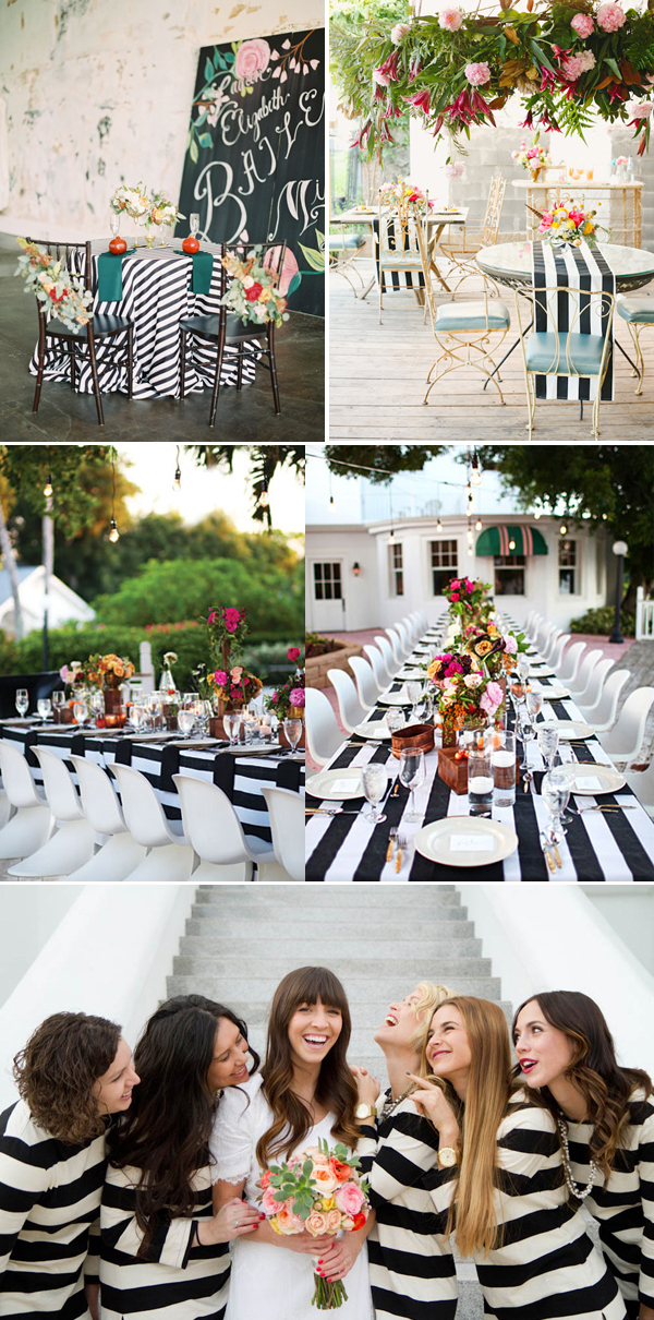 black-and-white-stripes-at-wedding