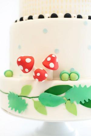 donna wilson inspired wedding cake