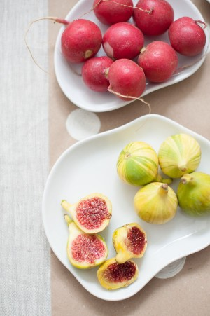 tiger figs and radishes