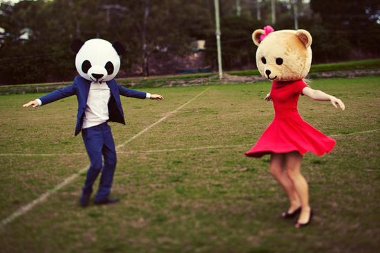 teddy bear engagement