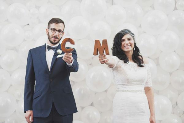 Real wedding: Cassie + Matt - Brooklyn Bride - Modern Wedding Blog