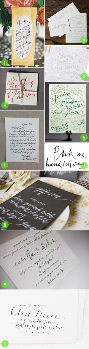 top 10: modern calligraphy 2