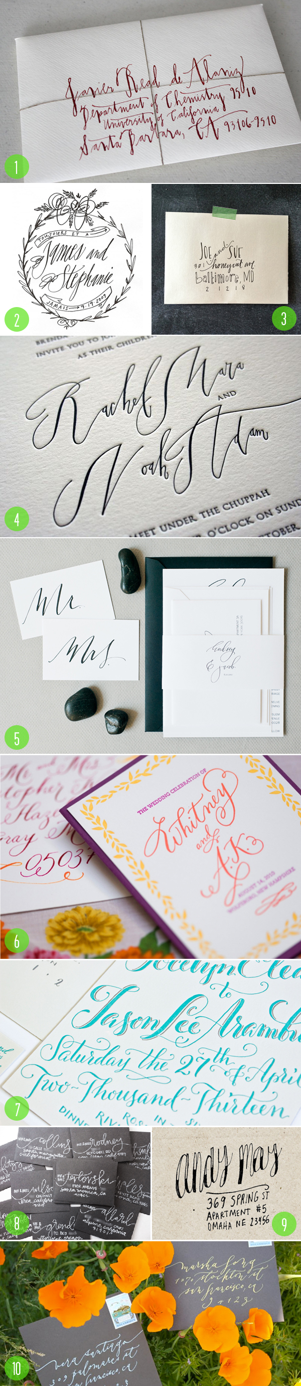 top 10: modern calligraphy 3