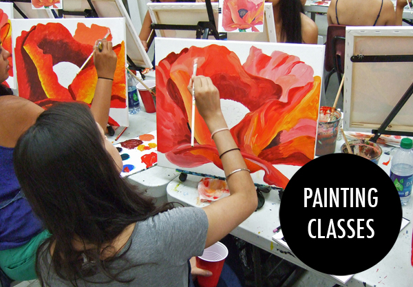 Painting Classes - Painting Lounge copy