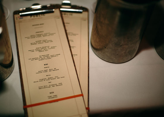 Public menus