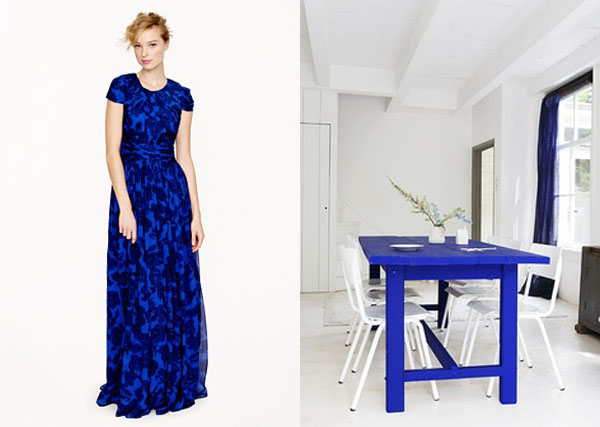 perfect pair cobalt blue