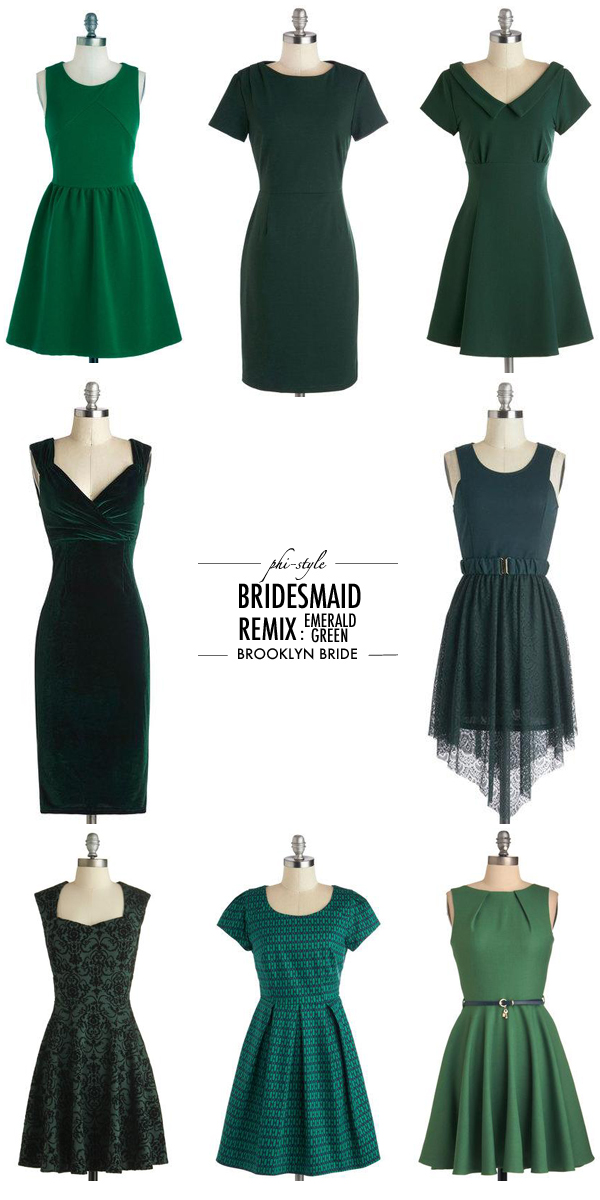 emeraldgreenbridesmaid