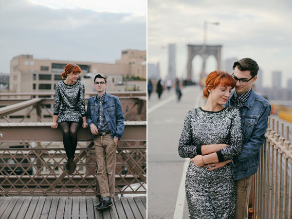 brooklyn bribrooklyn bridge engagementde engagement