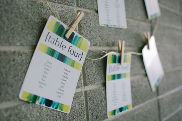painted table numbers