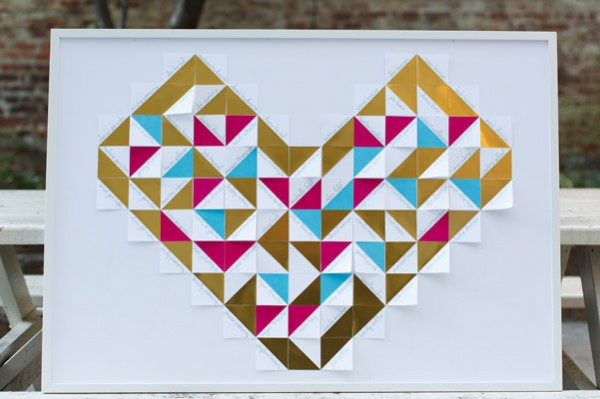 tangram heart seating chart