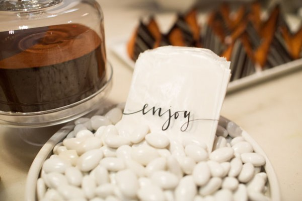 white candy favors