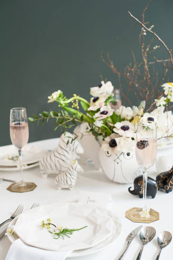 animal menagerie shoot with kate spade new york