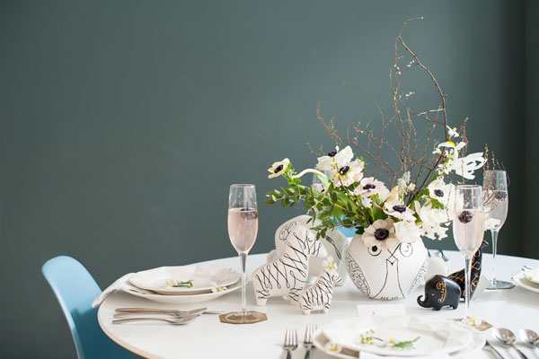 kate spade new york tablescape