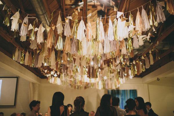ceiling tassels