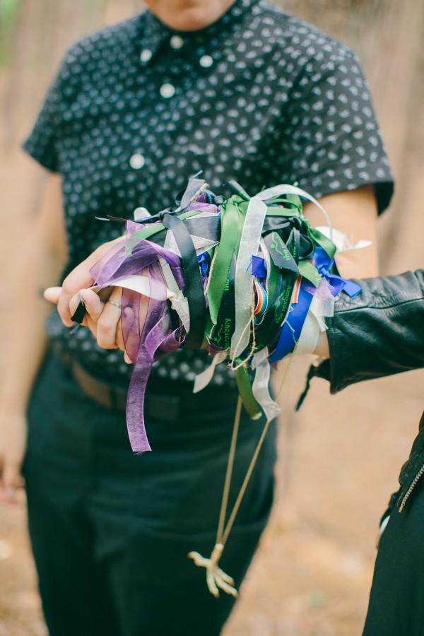 ribbon tying ceremony