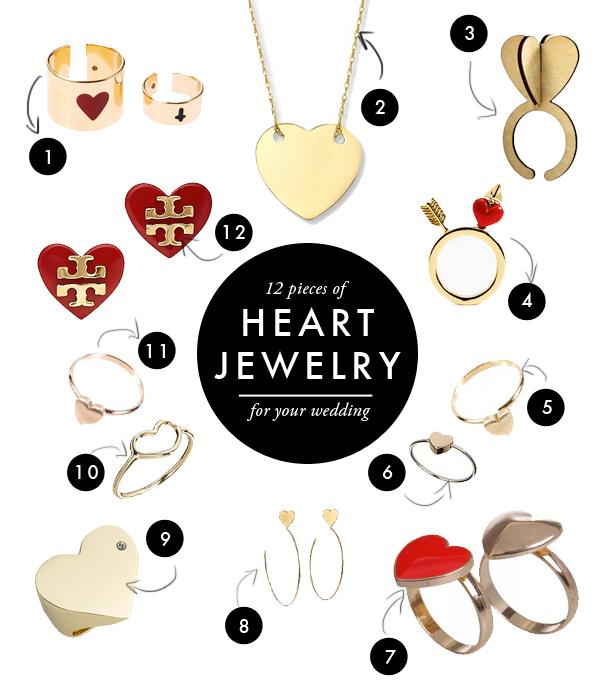 heart-jewelery-for-your-wedding