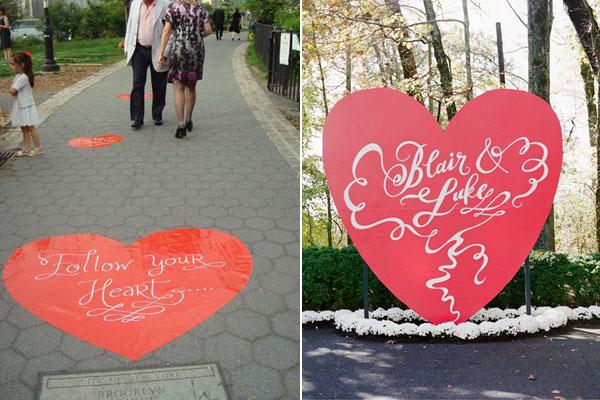 heart signage