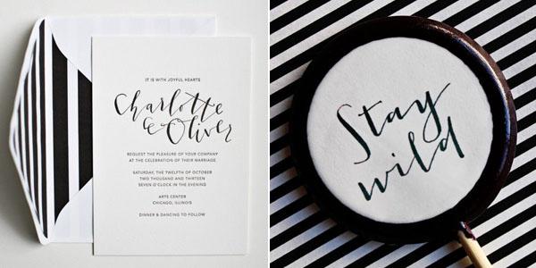 perfect pair : black & white