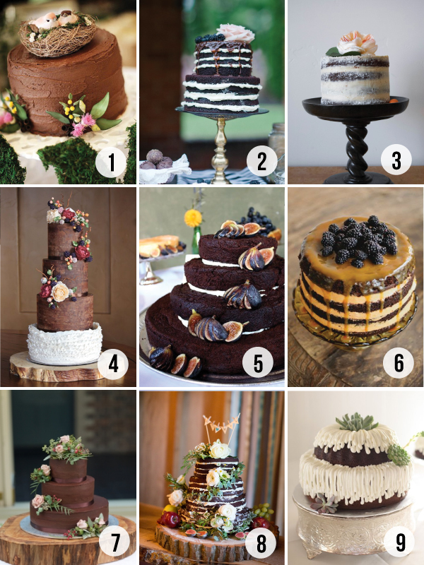 Top 9 Chocolate Cakes For Your Wedding Brooklyn Bride Modern