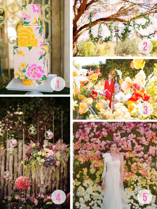 Florals 5 Ways