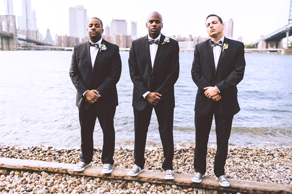 stylish groomsmen