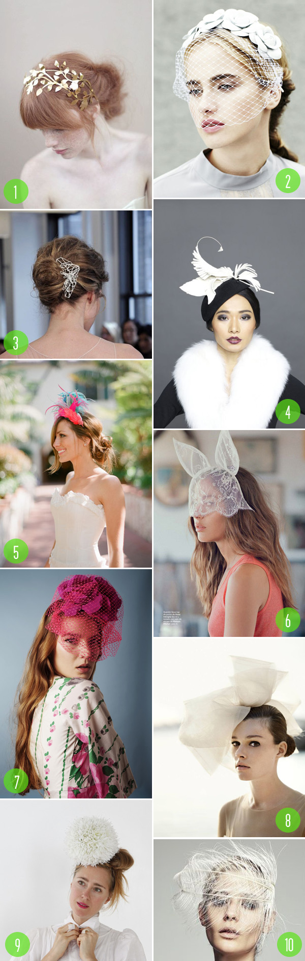 top 10: hairpieces