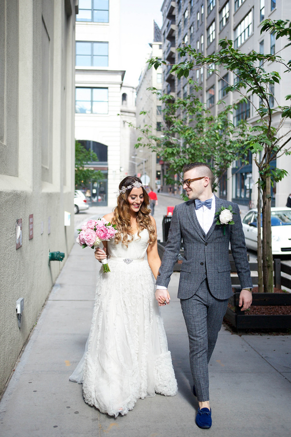 brooklyn wedding couple