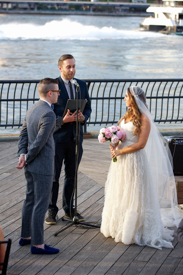 brooklyn waterfront wedding