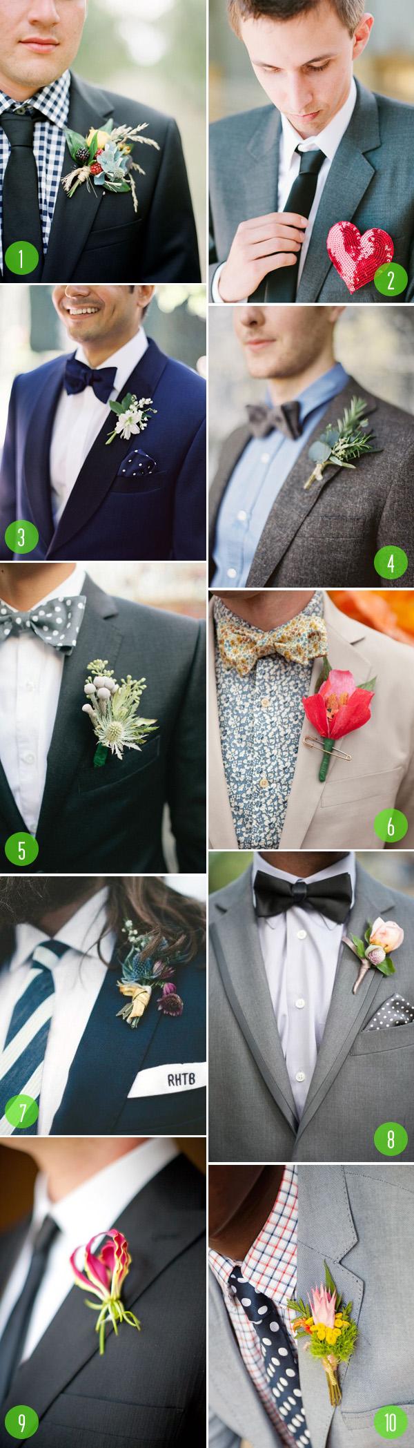 top 10: stylish grooms