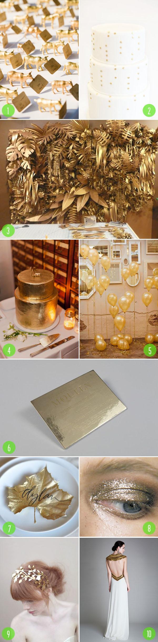 top 10: gold details