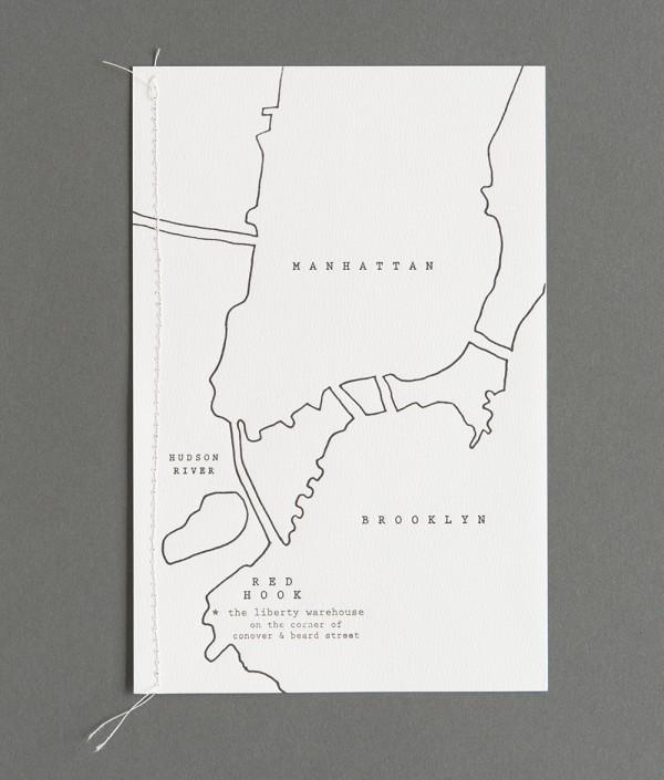 black and white map program