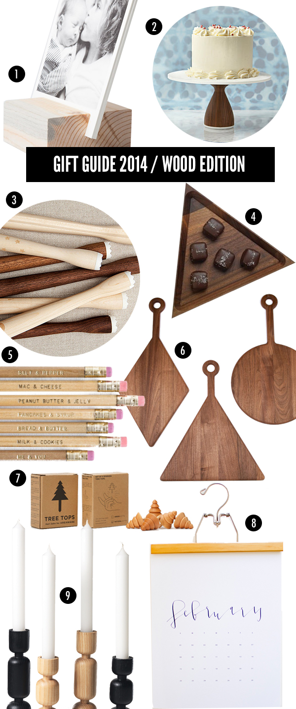 giftguide - wood