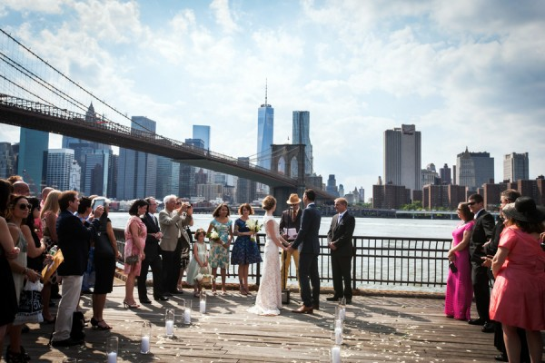 dumbo waterfront wedding