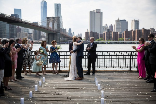 dumbo waterfront ceremony