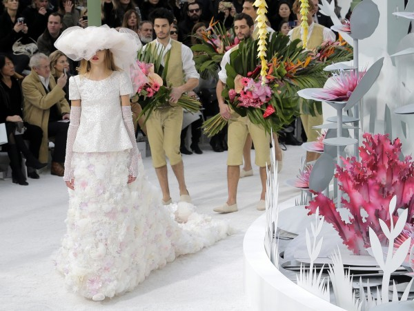 chanel wedding