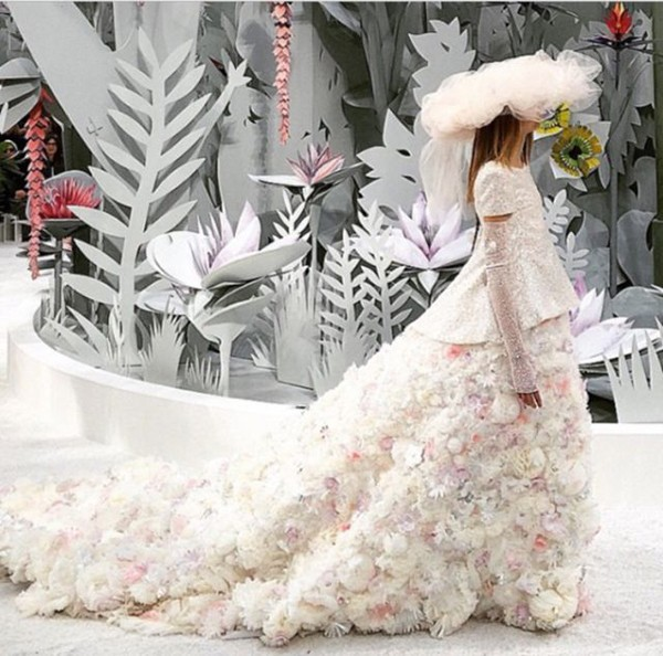 Chanel Couture Spring 2015 Wedding
