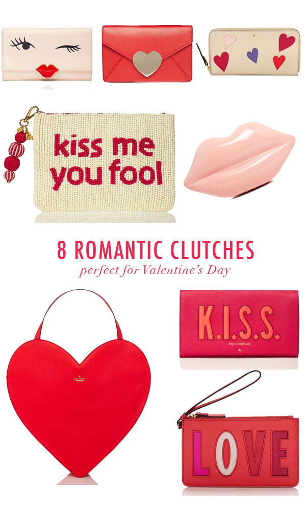 Cute Valentine's Day clutches