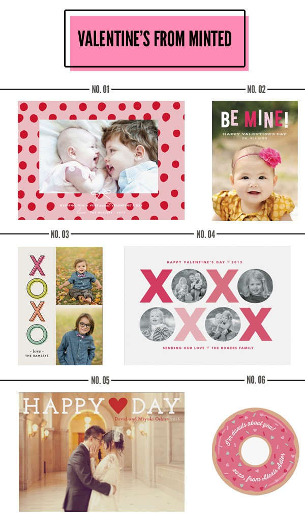 valentines from minted