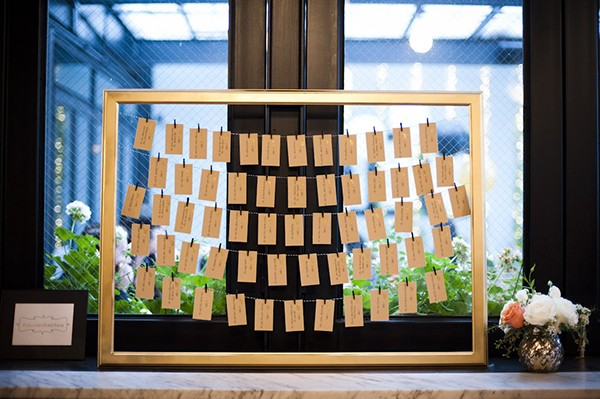 escort card display