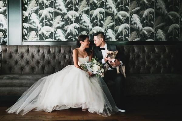 bridal portrait at 501 union