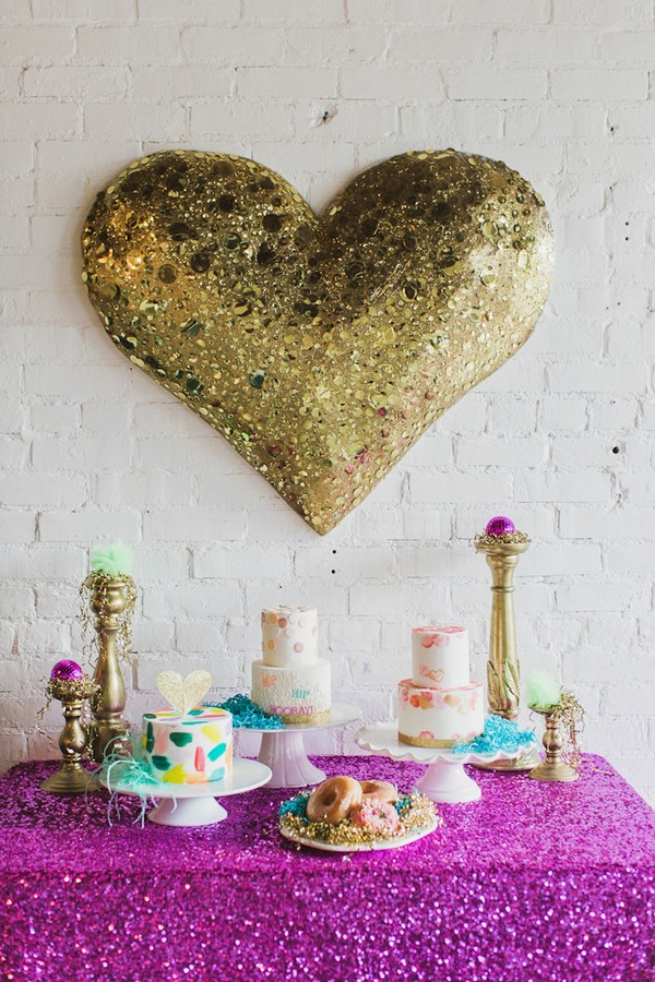ban.do inspired dessert table