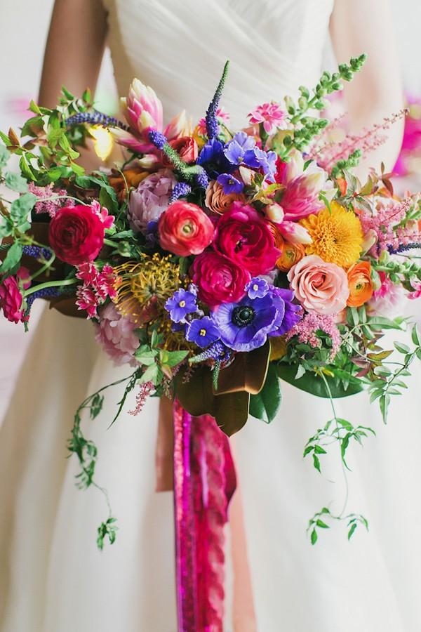 ban.do inspired bouquet