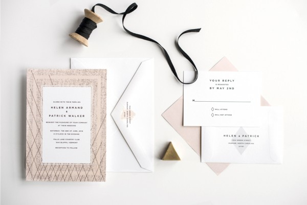 pink-and-black-modern-wedding-invitation