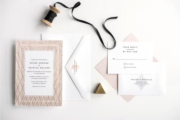 pink-and-black-modern-wedding-invitation