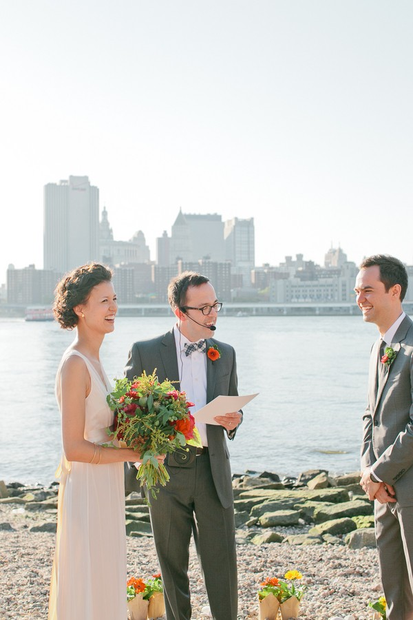 outdoor brooklyn wedding