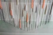 pastel string backdrop