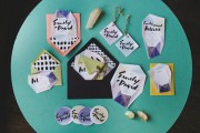 jewel toned invitations